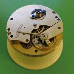 Assembled cleaned and restored movement.
