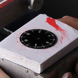 Printing the dial.