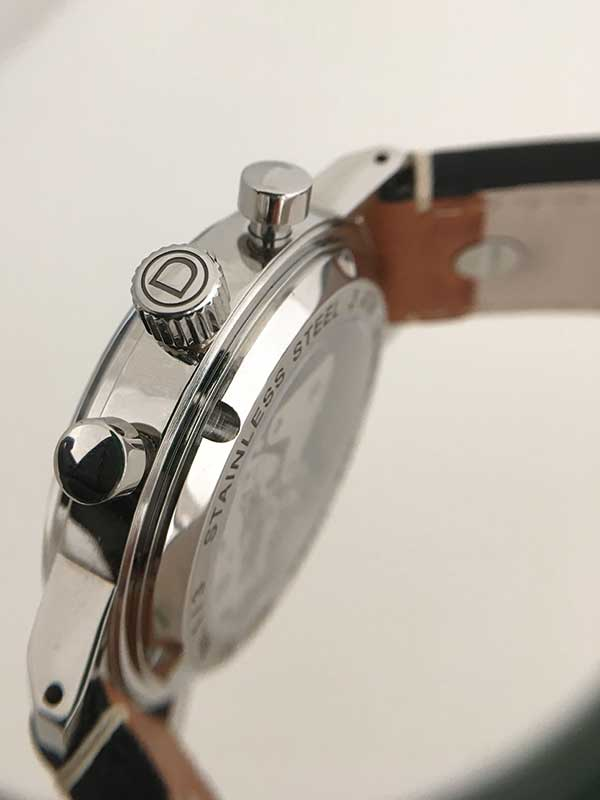 Figure 3. View of the finished movement through the Sapphire glass.